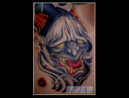 Tattoo Hannia Tattoo Oriental  Black White