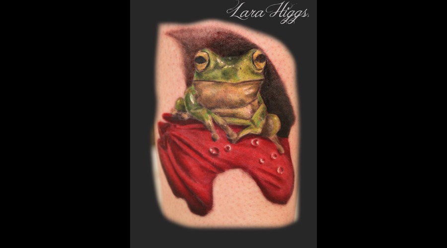 Realism  Tulip  Tree Frog  Frog  Feminine Color Lower Leg