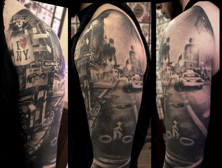 Graffiti  Nyc  Sleeve