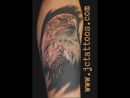 Eagle  Realism Black White