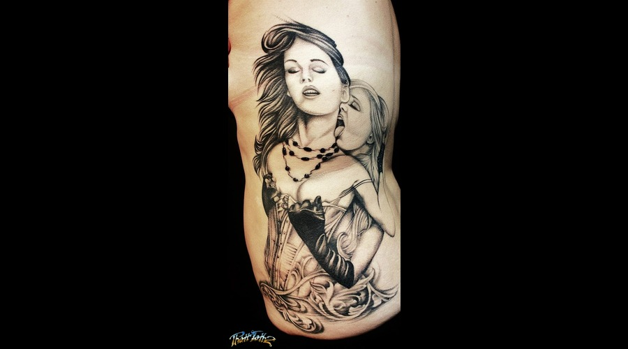 Realism Erotic Ladies  Ladies Black And Grey  Realistic Woman   Black Grey Ribs