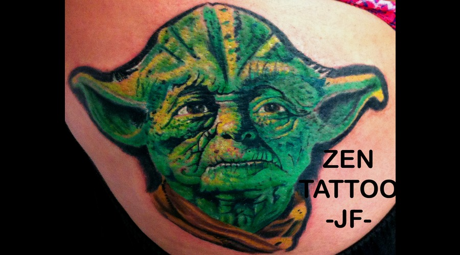 Yoda  Star Wars  Portrait Color