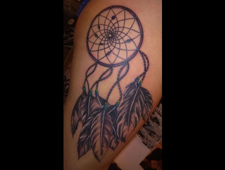 Realism  Black And Grey  Dreamcatcher Black White