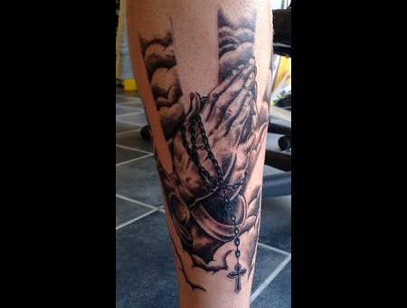 Realism  Black And Grey  Religious Black White