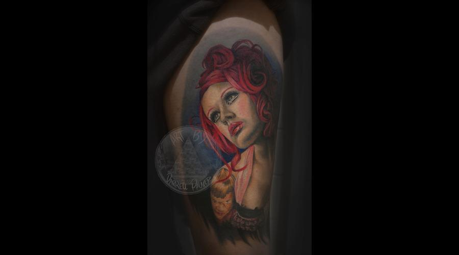 Portrait Tattoo  Kelly Eden   Color