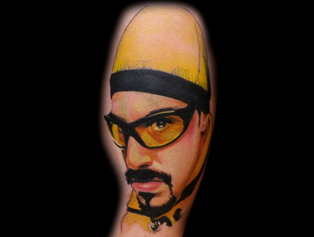 Ali G  Character  Movie  1 Hour   Color Forearm