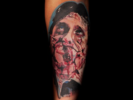 Horror  Movie  Blood  Bloody  Dark   Color Arm