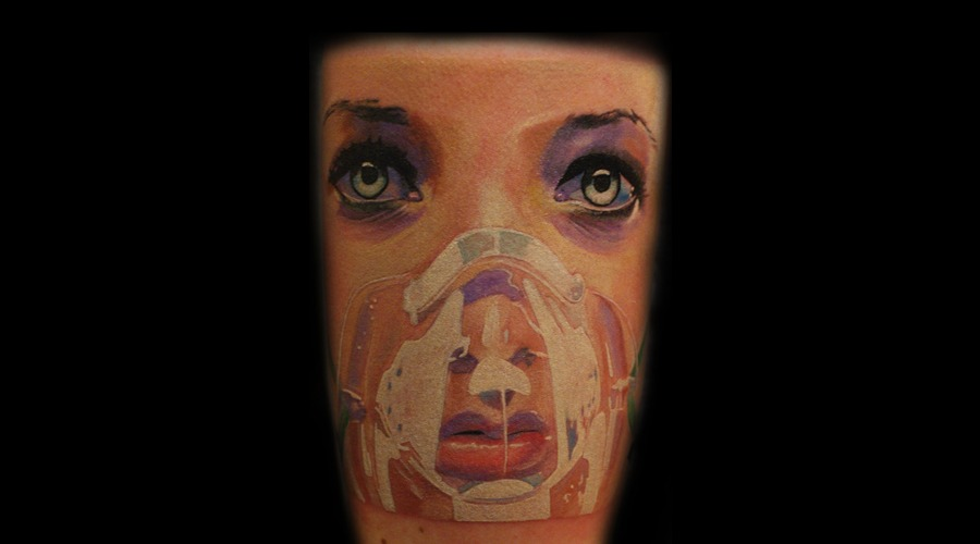 Small  Horror  Colours  Realistic   Color Forearm