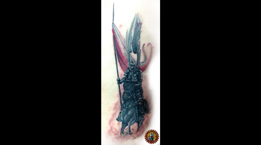 Heritage Tattoo  Warrior Tattoo  Realism  History Tattoo  Polish Tattoo Color
