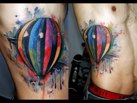 Balloon  Watercolor Color