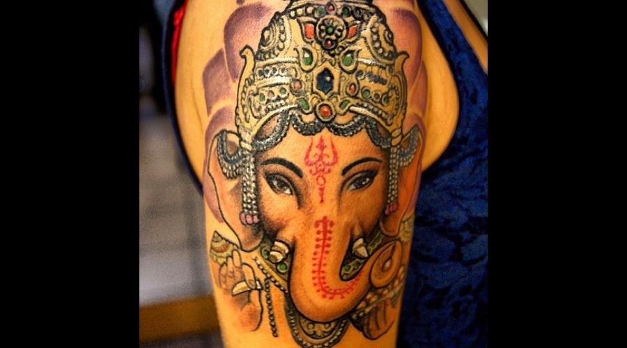 Ganesha  Hindu Color