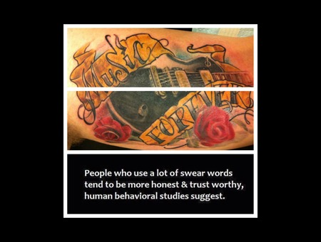 Guitar Lespaul Rose Flower Lettering Black Grey Arm