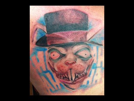 Rabbit Crazy Insane Mad Hatter Horror Realism Color Chest