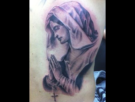 Religious Black White