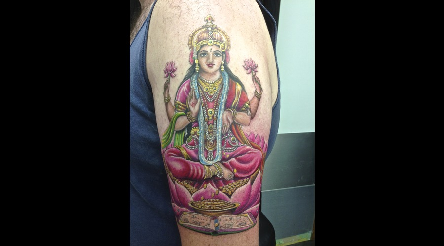 Goddess  Hindu  Religious Color