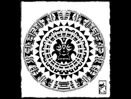 Goro Circle Black White