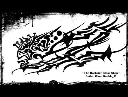 Speed Skull Black White