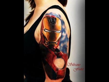 #Iron Man #Silvano Fiato #Color #Realistic #Comics #Movie  Color