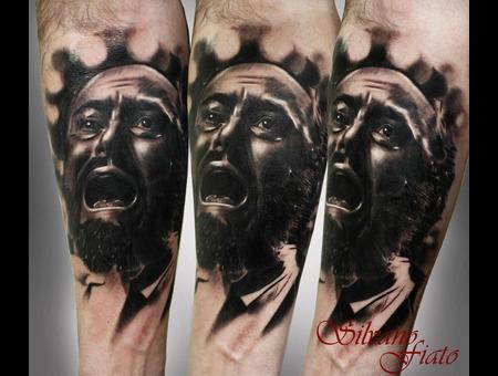 #Sivano Fiato #Pavarotti #Black&Gray Black White