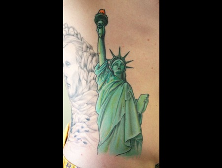 Statue Of Liberty  American  Patriotic   Color