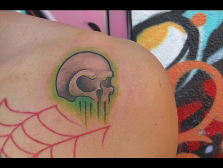 Skull  Traditional   Color