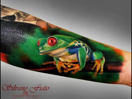 #Silvano Fiato #Frog  Color