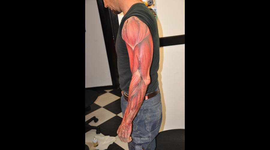 Flesh  Meaty  Muscle  Bio Mechanical  Blood  Realistic Color
