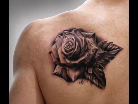 #Silvano Fiato #Flower #Rose Black White