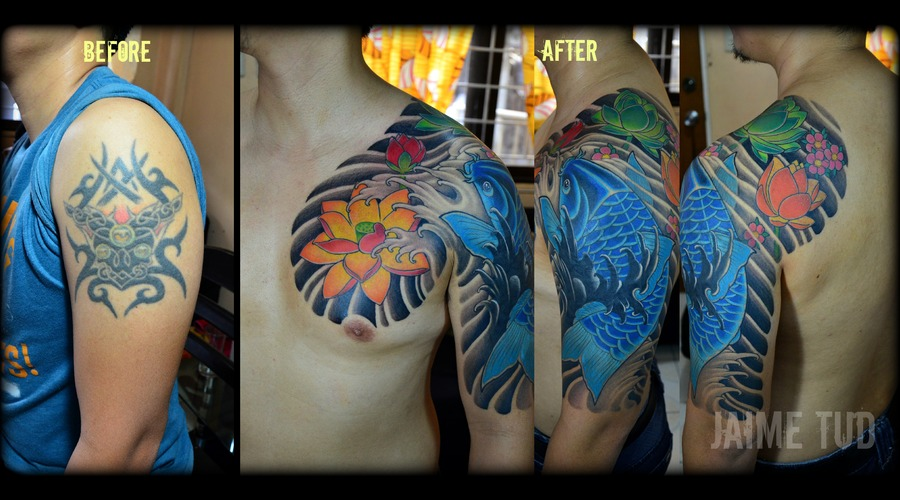 Cover Up Color Arm