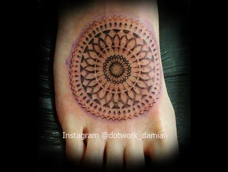 Dotwork Mandala