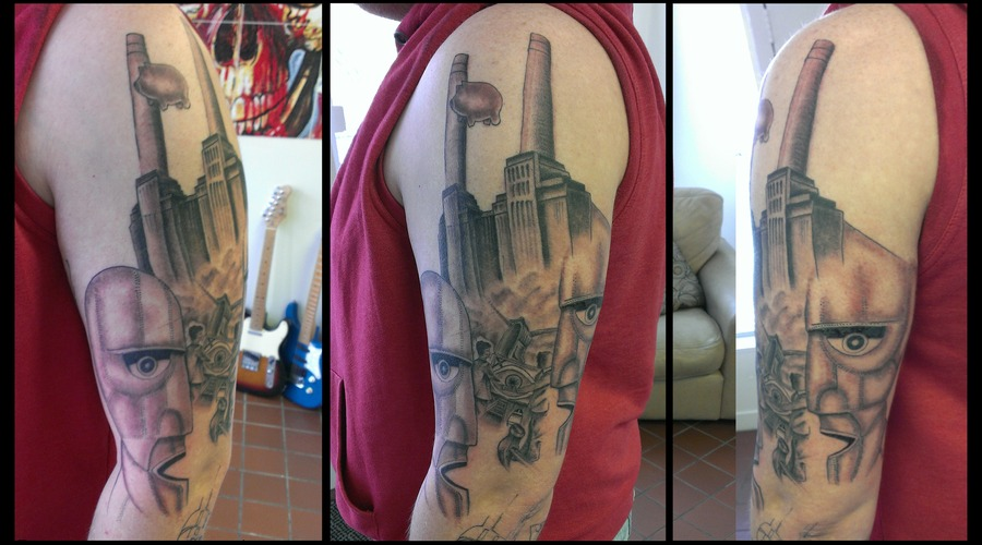 Pink Floyd Sleeve  Work In Progress Black White