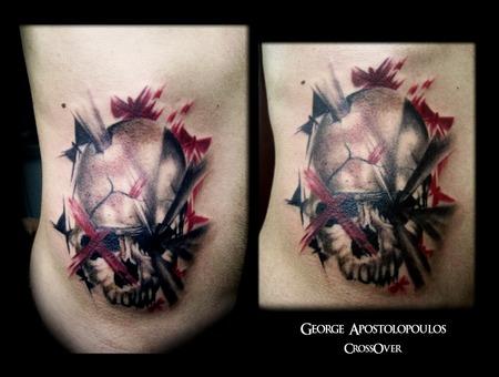 Skull Tattoo  Color