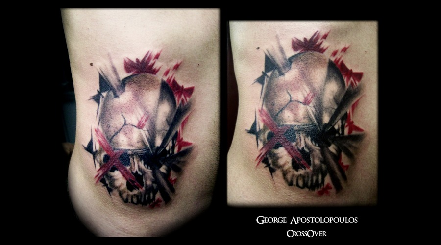 Skull Tattoo  Color