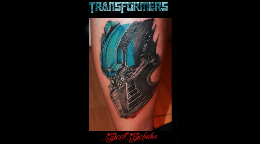 Iconic Optimus Prime Transformers Colour Portrait Color