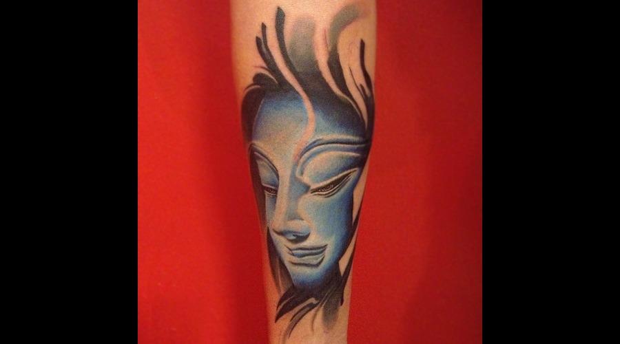 Buddha  Realism  Colour Color Forearm