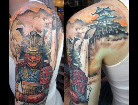 Samurai Warrior Memo Espino  Trueartis