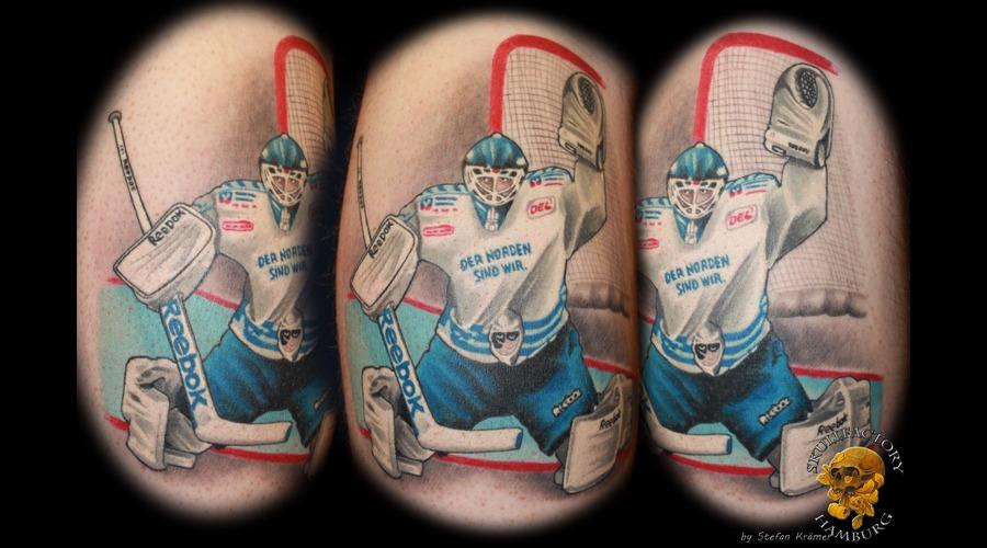 Ice Hockey  Freezers  Hamburg Color Lower Leg