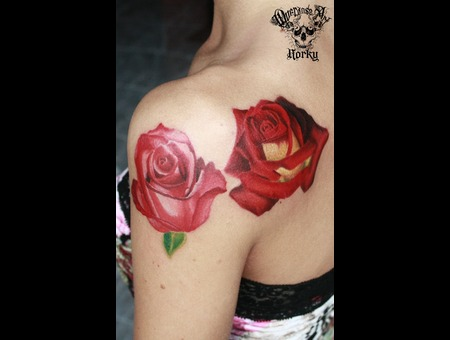 Realistic Roses Color