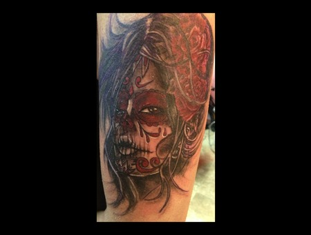 Day Of The Dead  Full Color Demongrafix666 Synyster Ink  Jon Barber Color