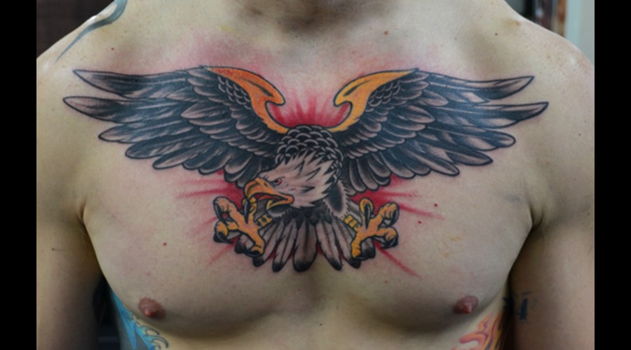 Traditional Eagle Chest Color