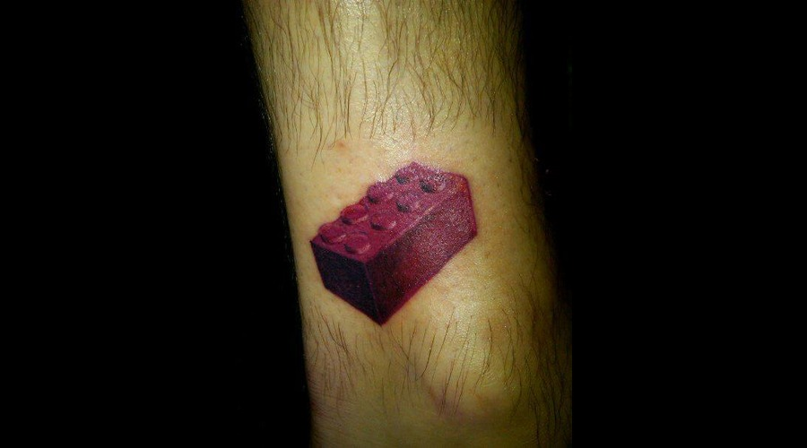 Lego Realism Color Lower Leg