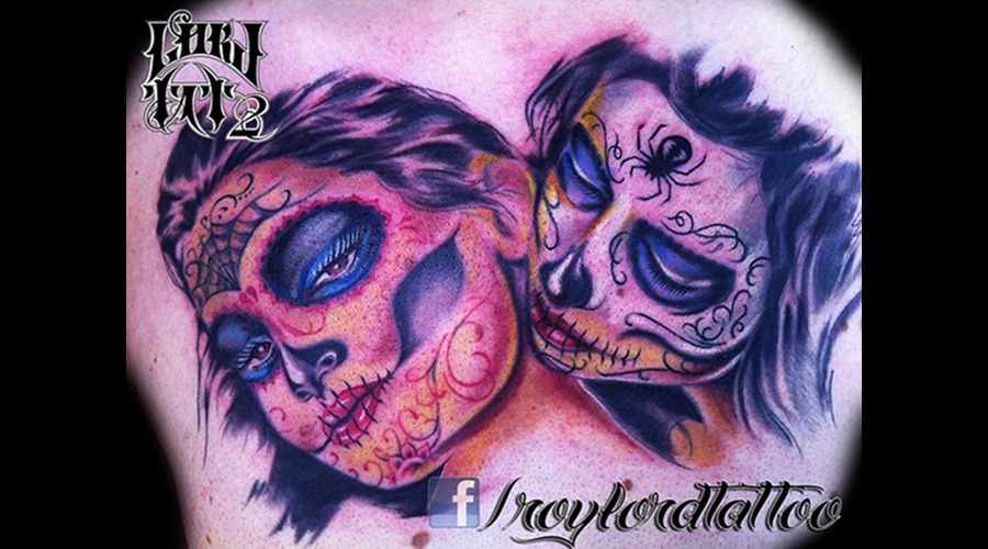 Catrina  Chicano  Chicanoart   Color