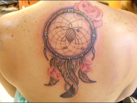 Dreamcatcher  Tattoo  Feathers Color