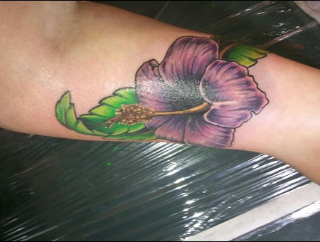 Hibiscus  Flower  Coverup  Color Color