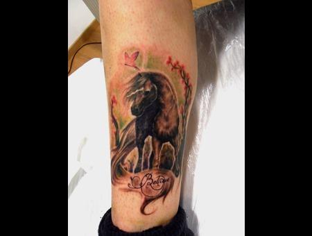 Horse Dreams  Tattoo Color
