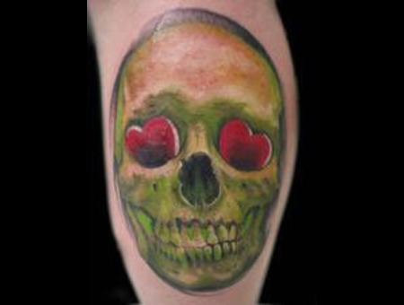 Skull Color Realism Color