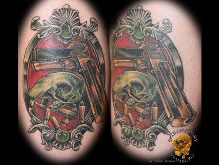 Spqirrel  Squirrel Skull  Desert Eagel  Gun  Frame  Bullet  Femoral  Healed Color Thigh