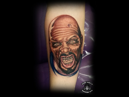 Zombie Land Of The Dead Big Daddy Horror Portrait Color Realism Color