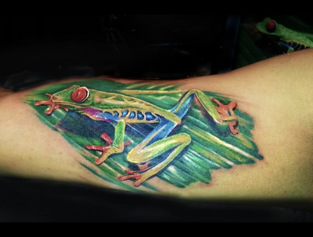 Did This At The Nepal International Tattoo Convention Color Arm