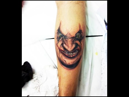 Color Face Leg Joker Color